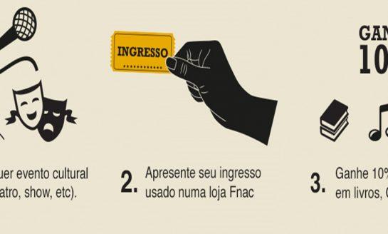 """FNAC realiza promoção """"Salvem os ingressos"""""""