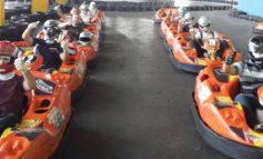 Kart indoor garante diversão no Atrium Shopping
