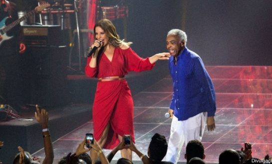 Ivete Sangalo e Gilberto Gil no Allianz Parque Hall