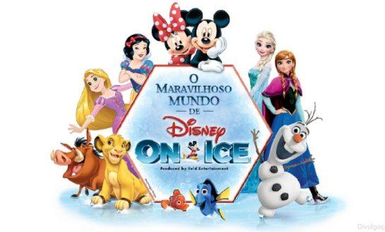O maravilhoso mundo de Disney On Ice
