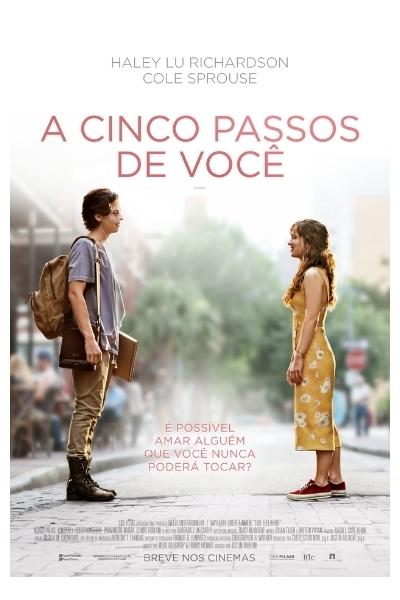 A CINCO PASSOS DE VOCÊ  - Drama juvenil aborda a paixão instantânea