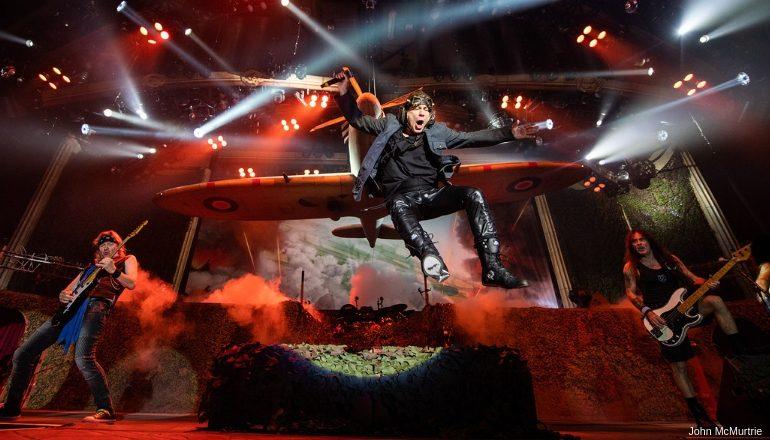 "IRON MAIDEN   Turnê ""Legacy of the Beast"" passa pelo Brasil"