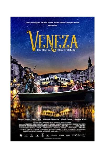Pôster do filme Veneza de Miguel Falabella