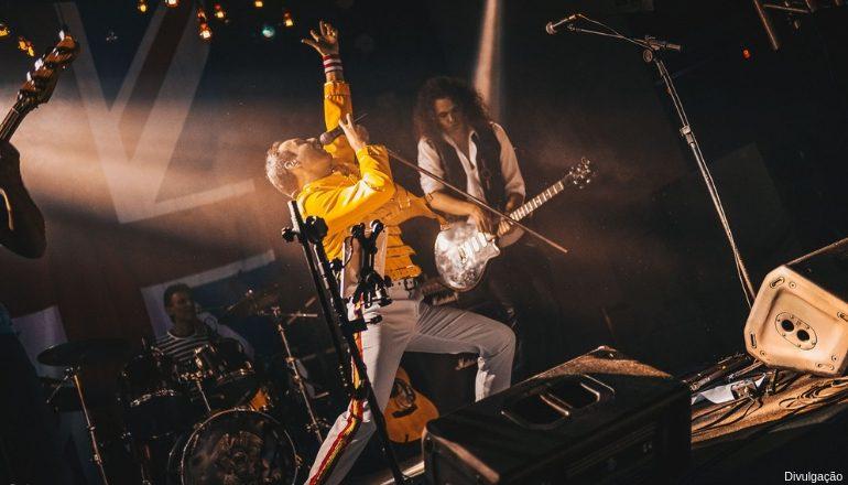 QUEEN TRIBUTE BRAZIL | Show encanta os fãs da banda de Freddie Mercury