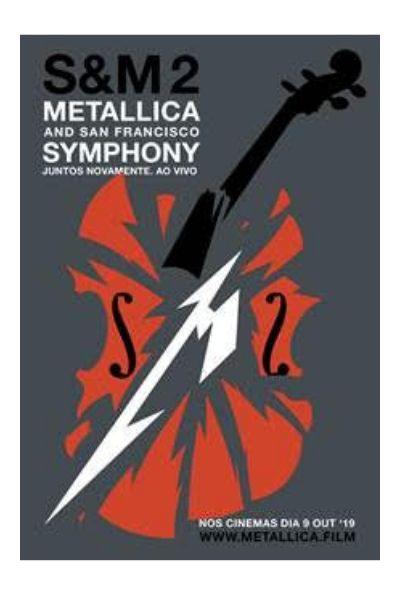 Cinemark exibe show do Metallica