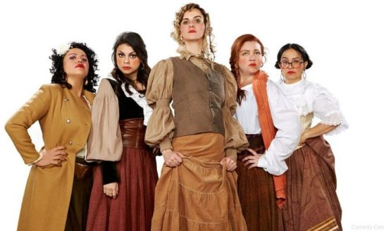 A CULPA É DA CARLOTA   Humorístico reúne quinteto feminino