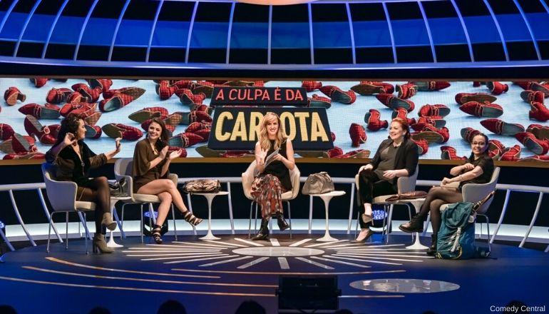 Programa A Culpa é da Carlota - Grande ABC Cultural